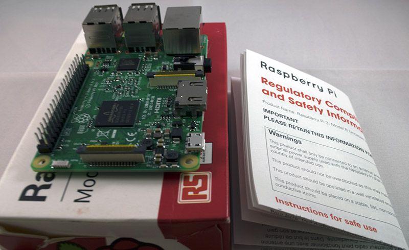 Tutorial Raspberry Pi 3 Placa Intrucciones Seguridad