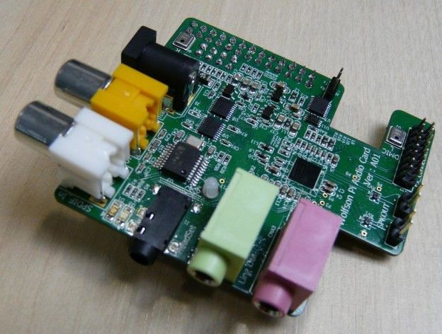 Raspberry Pi Sound Card