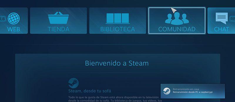 Steam Link Raspbian Biblioteca