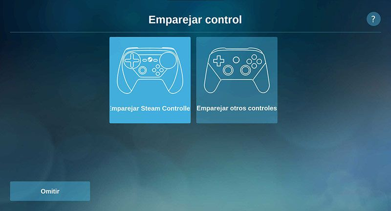 Steam Link Raspbian Emparejar Control