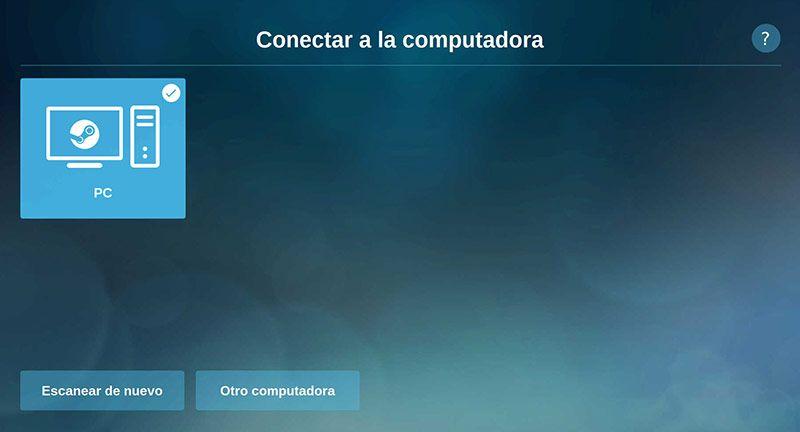 Steam Link Raspbian Escanear Pc