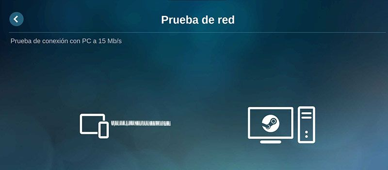 Steam Link Raspbian Prueba de red